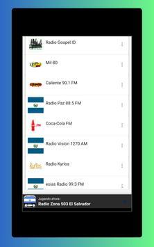 Radio El Salvador - Radio El Salvador FM: Radio FM screenshot 9