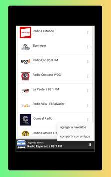 Radio El Salvador - Radio El Salvador FM: Radio FM screenshot 10