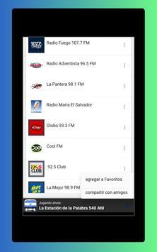 Radio El Salvador - Radio El Salvador FM: Radio FM screenshot 14