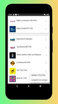 Radio El Salvador - Radio El Salvador FM: Radio FM screenshot 23