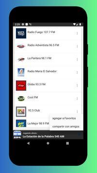 Radio El Salvador - Radio El Salvador FM: Radio FM screenshot 22
