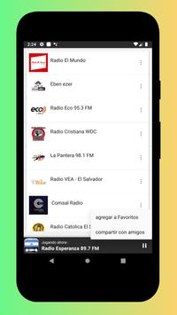 Radio El Salvador - Radio El Salvador FM: Radio FM screenshot 2