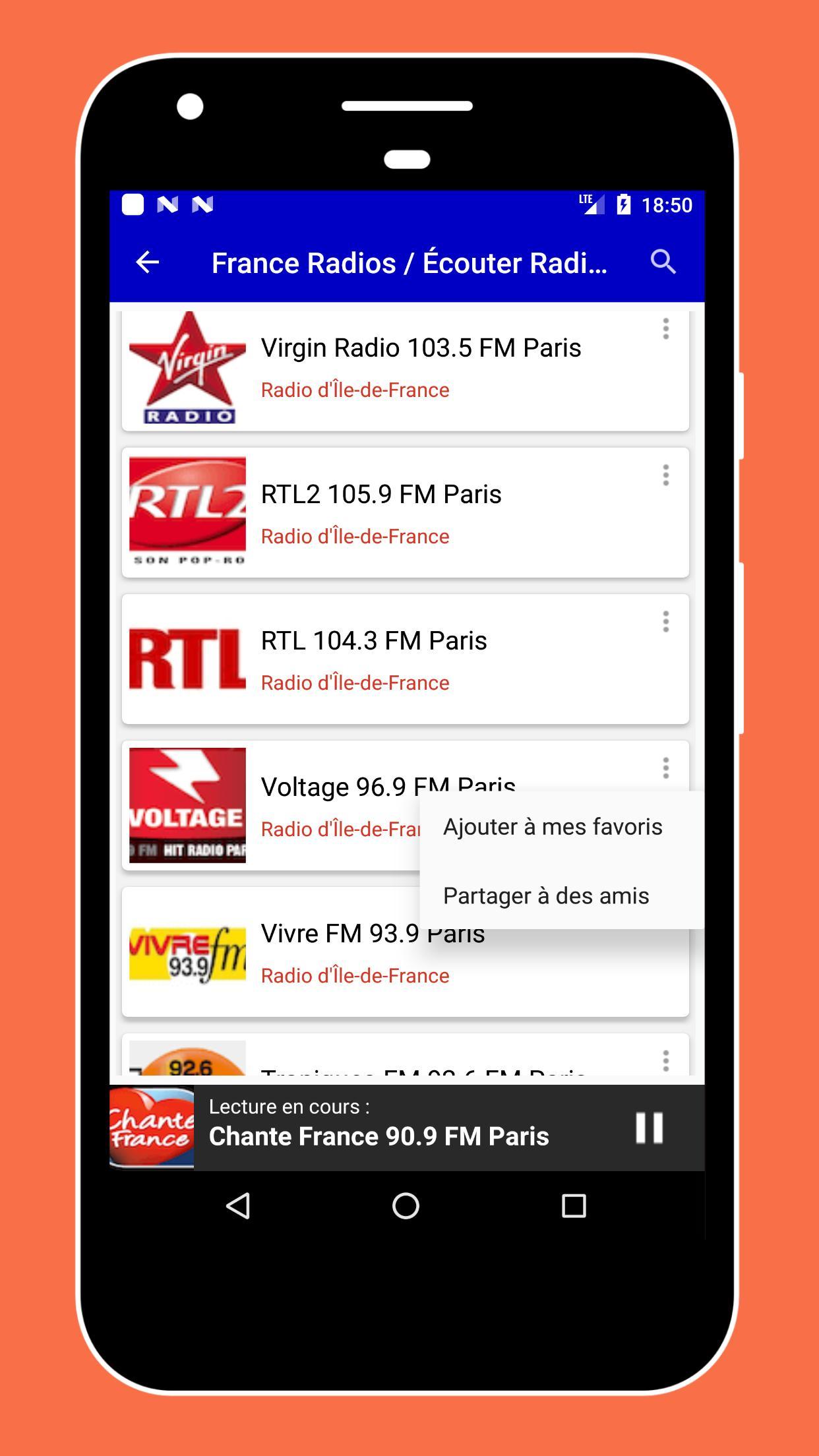 französische radiosender