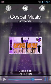 Rádio Gospel Music screenshot 1