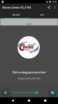 Stereo Centro 92.3 FM screenshot 1