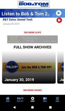 The BOB & TOM Show screenshot 1