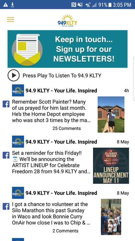 949 KLTY For Android