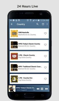 Country Music Radio screenshot 1