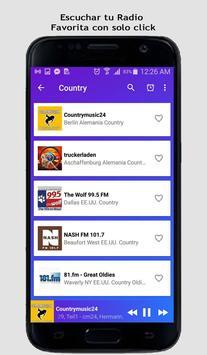 Country Music Radio screenshot 5