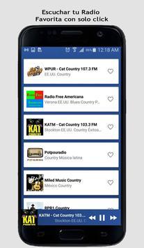 Country Music Radio screenshot 8
