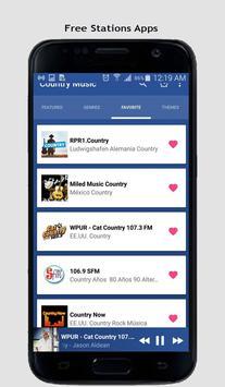 Country Music Radio screenshot 9