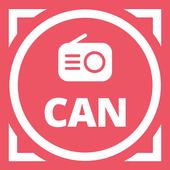 Радио Канады: FM-радио, бесплатное интернет-радио иконка