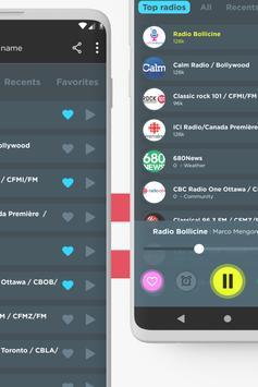 Радио Канады: FM-радио, бесплатное интернет-радио скриншот 1