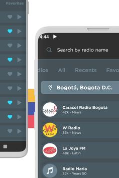 Radio Colombia: Live and Free FM Radio screenshot 2