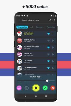 Radio UK: music, free online radio, internet radio screenshot 3