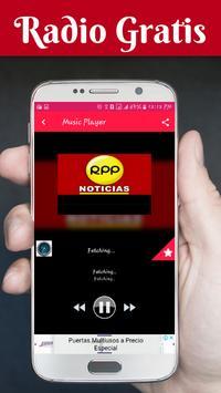 Radios De Peru Gratis Radios De Peru En Vivo screenshot 1