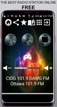 CIDG 101.9 DAWG poster