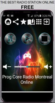 Prog Core Radio Montreal Online CA App Radio Free Poster