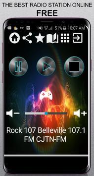 Rock 107 Belleville poster
