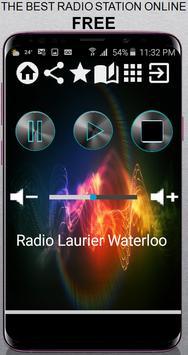 Radio Laurier Waterloo CA App Radio Free Listen On poster