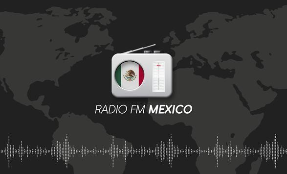 Mexico Radio - Radio FM Mexico Listen for free poster