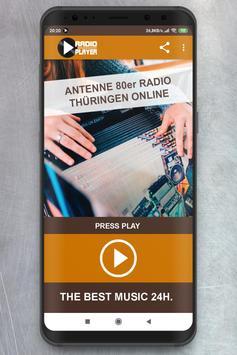 Live Antenne 80er Radio Thüringen Player online poster