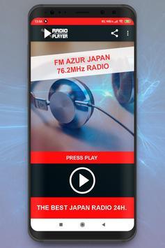 FM Azur Japan 76.2MHz Radio Live Player online poster