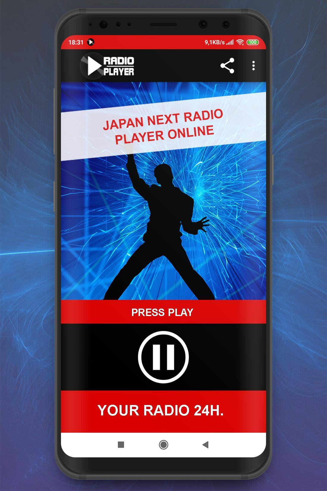 Live Japan Next Radio Player Online App for Android - APK