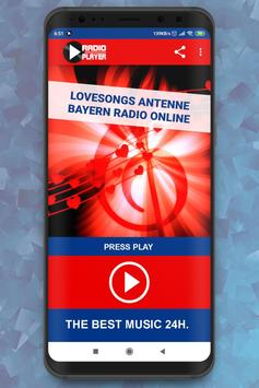 Live Lovesongs Antenne Bayern Radio Player online poster