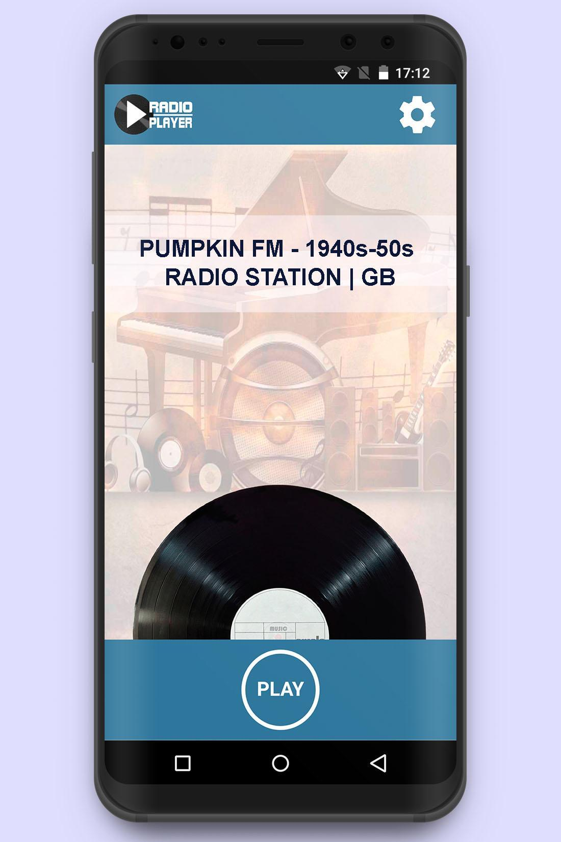 Oldies Pumpkin FM Live Radio - 1940s 1950s- GB for Android