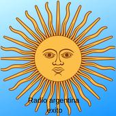Radio argentina exito icon