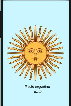 Radio argentina exito screenshot 1