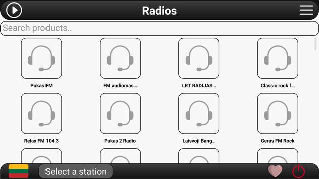 Lithuania Radio FM screenshot 3