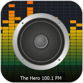 100.1 FM The Hero Radio icon