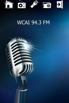 94.3 Radio Station WCAI poster