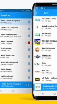 Radio Ecuador स्क्रीनशॉट 1