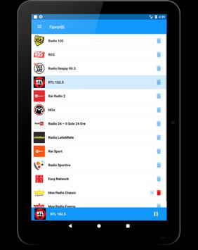 Radio Italia FM screenshot 14