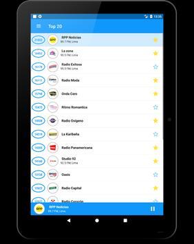 Radio Peru FM: Radio FM Peru gratis. Radio gratis. स्क्रीनशॉट 12