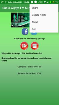 Radio Wijaya FM Surabaya screenshot 1