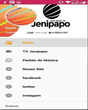RADIO E TV JENIPAPO plakat