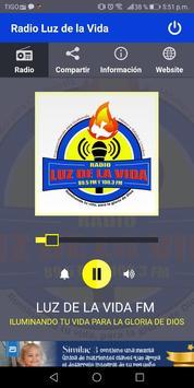 Radio Luz de la Vida screenshot 1
