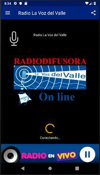 Radio La Voz del Valle screenshot 2