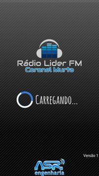 Rádio Líder Coronel Murta poster