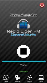 Rádio Líder Coronel Murta screenshot 1