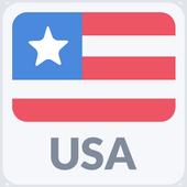 Radio USA Zeichen