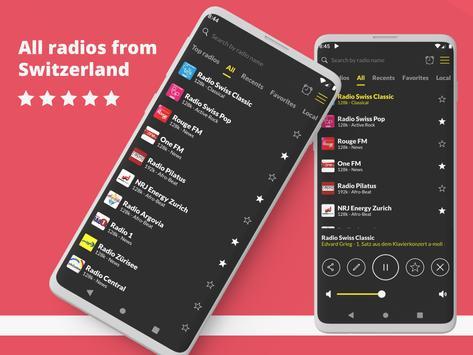 Swiss Radio: Free Radio Player, DAB Radio poster
