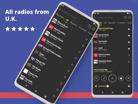 英国电台:电台播放器,在线免费电台 海报