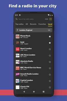 英国电台:电台播放器,在线免费电台 截图 5