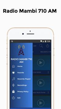 Radio Mambi 710 AM Station Florida screenshot 1