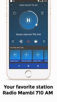 Radio Mambi 710 AM Station Florida screenshot 2